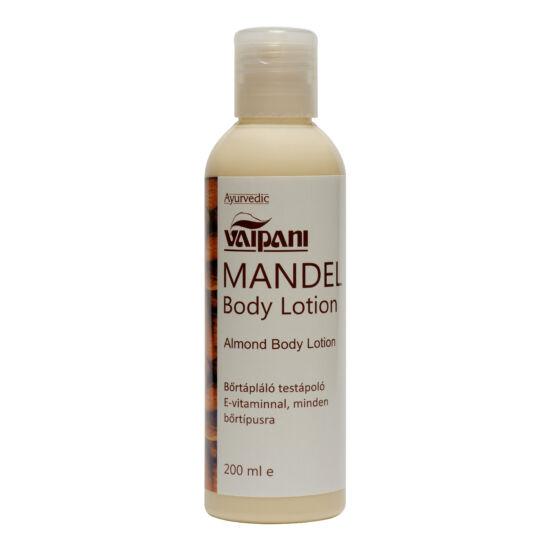 Vaipani Mandel Body Lotion  - testápoló koncentrátum mandulaolajjal és E-vitaminnal