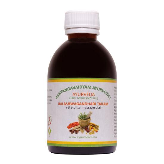 Balashwagandhadi Thailam - vata/pitta Ayurveda masszázsolaj 200 ml