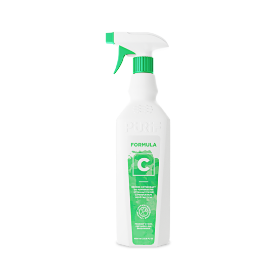 Spray üveg C Formula