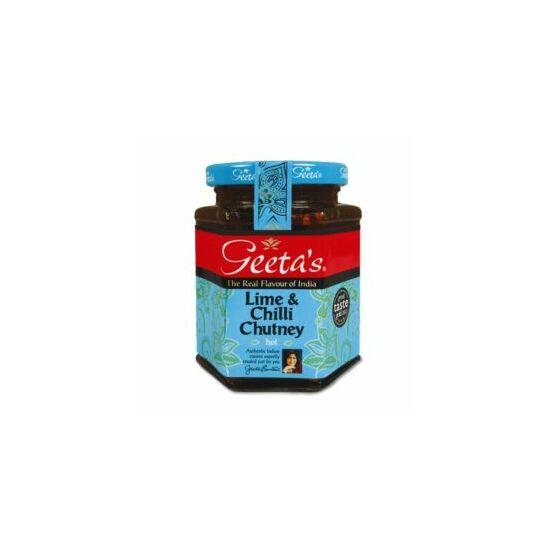 Geeta's Lime és chili chutney ( csatni)