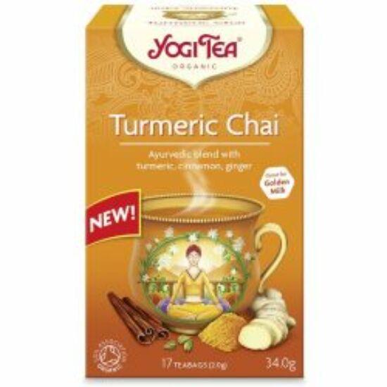 Kurkuma chai bio tea