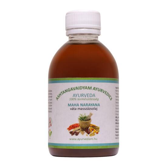 Maha Narayana Thailam - vata Ayurveda Masszázsolaj 200 ml