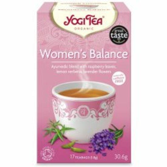 Női egyensúly bio tea