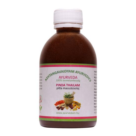 Pinda Thailam - pitta Ayurveda masszázsolaj  200 ml