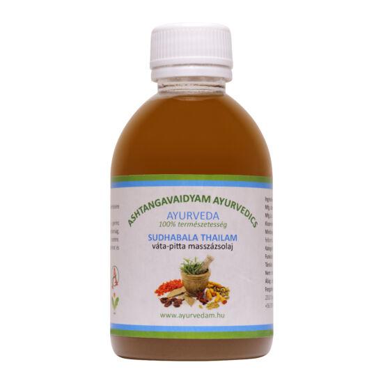 Suddhabala Thailam - vata/pitta Ayurveda masszázsolaj 200 ml