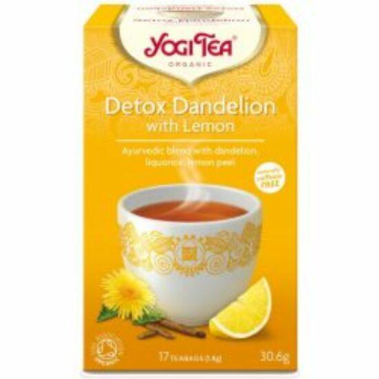 Tisztító (méregtelenítő) bio tea citrommal