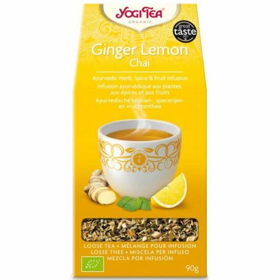 Gyömbéres-citromos  chai bio tea