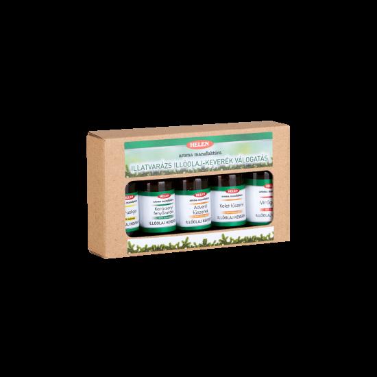 Illatvarázs illóolaj-keverék válogatás