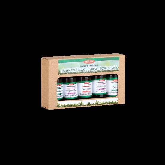 Lélekápoló illóolaj-keverék válogatás 5 x 10 ml