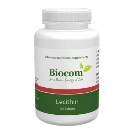 Lecithin - 100 softgels 100 db softgels