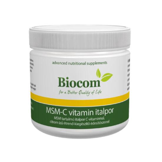 MSM-C vitamin italpor 165 gramm