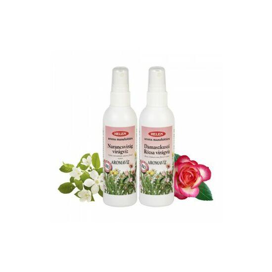 Bio Damaszkuszi Rózsa és Narancsvirág víz