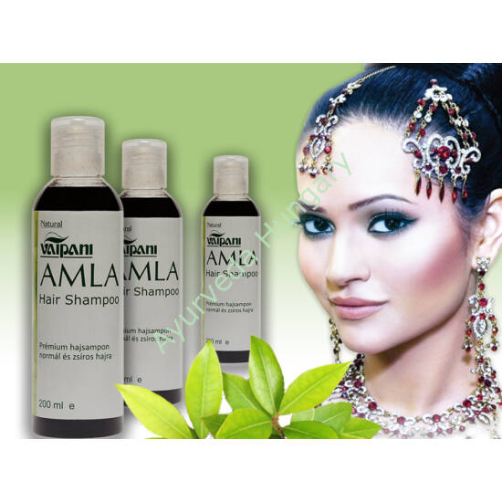 3 db. Vaipani Amla Ayurveda sampon-koncentrátum - normál és zsíros hajra