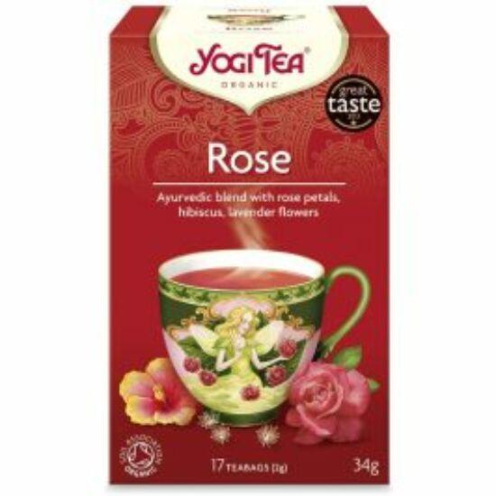 Yogi Rózsa bio tea