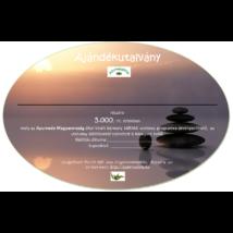 Ayurveda ajándékutalvány - Külföldi wellnessre