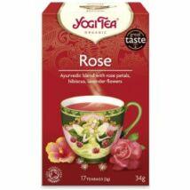 Yogi Rózsa bio tea - megfázásra, köhögésre