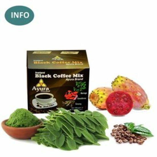 Ayura Herbal Black Coffee - Ayurveda kávé-különlegesség
