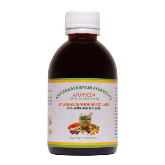 Balashwagandhadi Thailam - vata/pitta Ayurveda masszázsolaj 300 ml