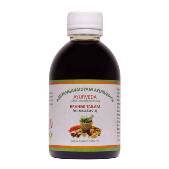 Brahmi Thailam - Ayurveda fejmasszázsolaj 1000 ml