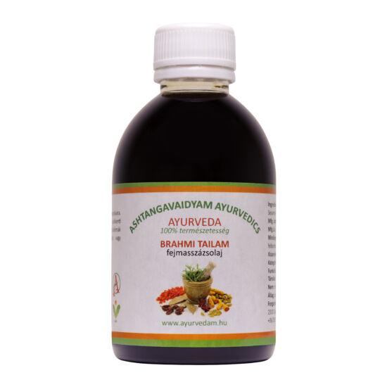 Brahmi Thailam - Ayurveda fejmasszázsolaj 125 ml