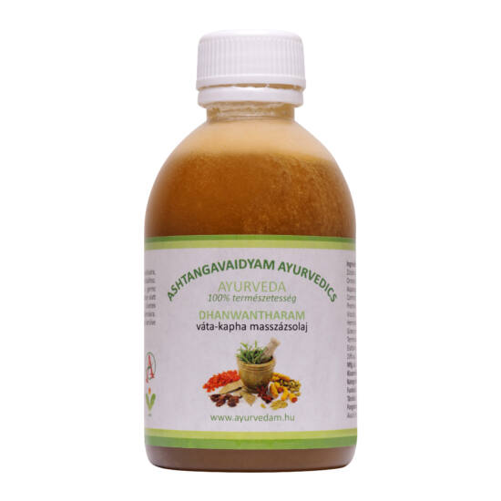 Dhanwantharam Thailam-vata/kapha masszázsolaj-125ml