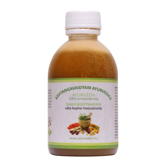 Dhanwantharam Thailam - vata/kapha Ayurveda Masszázsolaj  500 ml