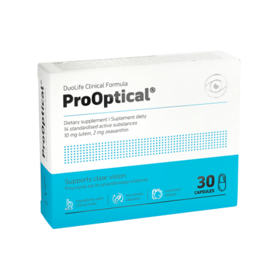 DuoLife Clinical Formula ProOptical - a szemünkért