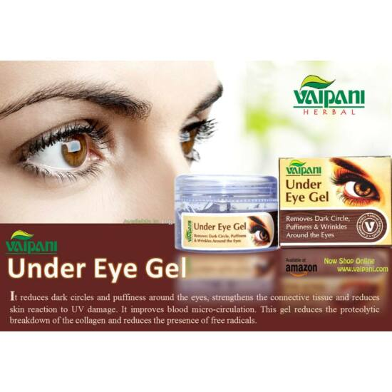 Vaipani Herbal  Under Eye Gel  - Premium Szemránckrém