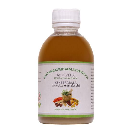 Kseerabala Thailam - vata/pitta Ayurveda  masszázsolaj 1 liter