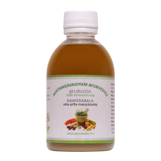 Kseerabala Thailam- vata/pitta masszázsolaj - 300 ml
