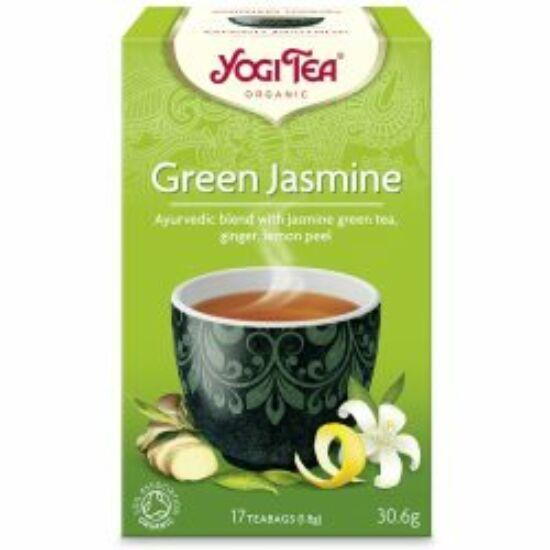 Yogi Zöld Jázmin bio tea - hogy jól induljon a nap