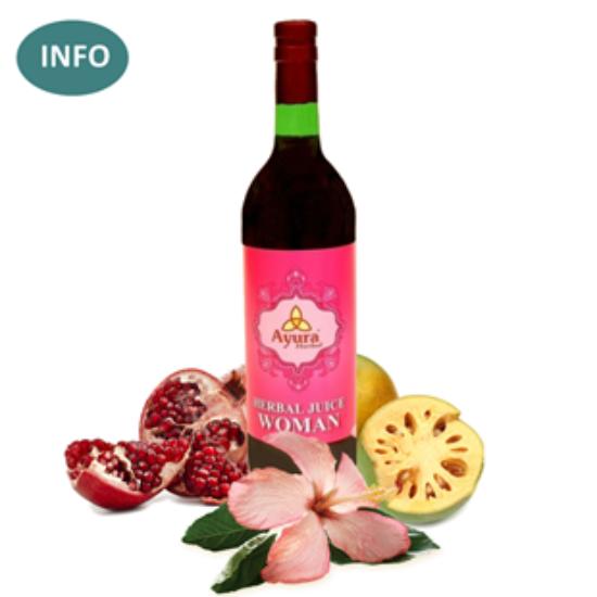 Ayura Herbal Woman Juice - női hormonháztartásért