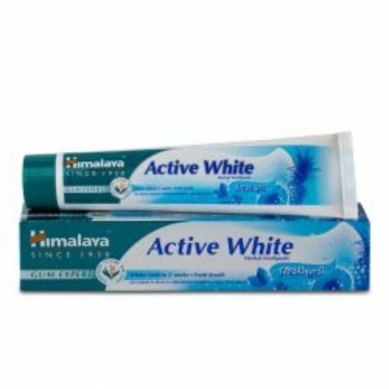 Himalaya Active White - fogfehérítésre, fogínygyulladásra