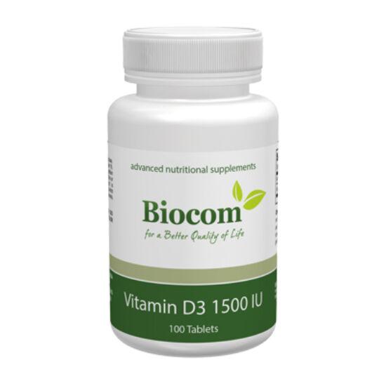 VITAMIN D3 1500IU  100 tabletta