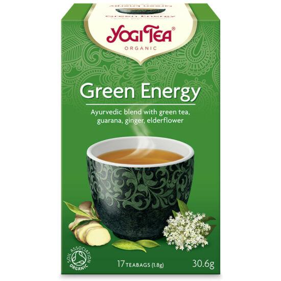 Yogi Energizáló bio zöld tea